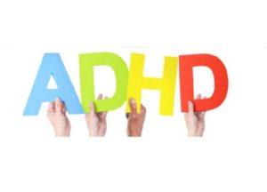 Lettere che compongono la parola ADHD