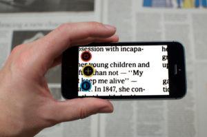 Visor: l'app che trasforma il tuo smartphone in ingranditore
