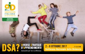 Settimana della dislessia 2017: le iniziative promosse dalla Sezione A.I.D. di Bergamo