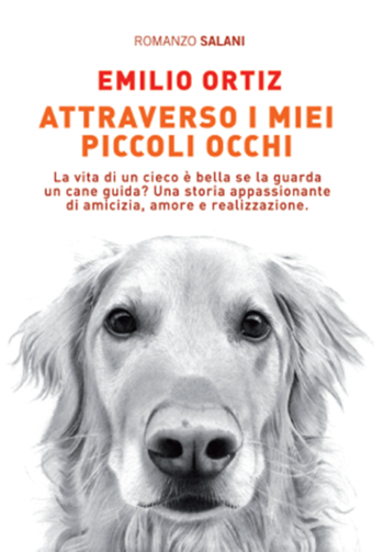 Golden retriever in bianco e nero