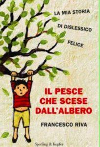 Copertina del libro: bambino appeso ad un albero