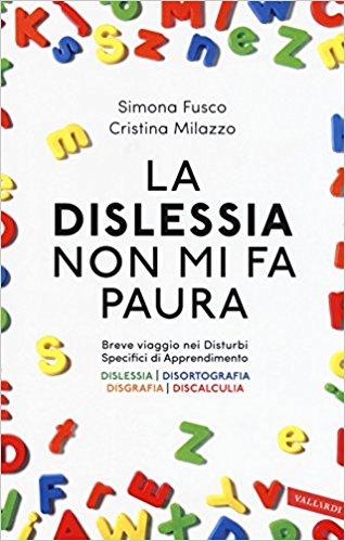 Copertina di libro con lettere colorate sui bordi