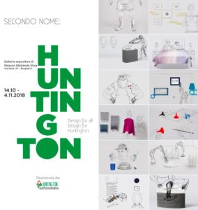 """Secondo nome: Huntington"". Mostra di design for all a Brugherio. 14 ottobre – 4 novembre"