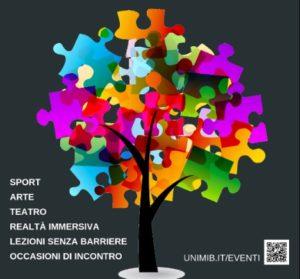 B.inclusion days. Una settimana di eventi inclusivi in Bicocca. 1 – 5 ottobre