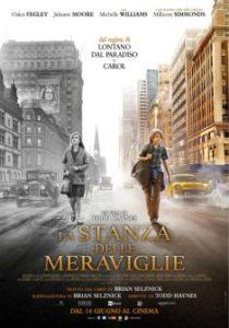 Locandina Film La stanza delle meraviglie: due bambini che camminano tra i palazzi
