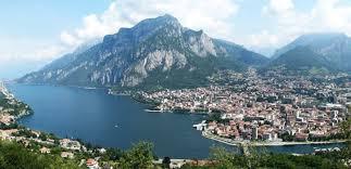 Lago di Lecco e città