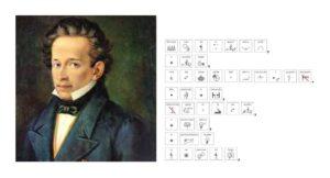 Immagine di Giacomo Leopardi e L'Infinito in simboli