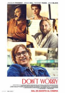 """Foto dei protagonisti del film """"Don't worry"""""""