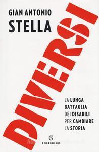 Copertina del libro:scritta diversi in rosso