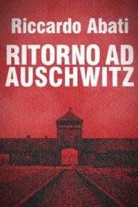 Foto di un campo di concentramento su sfondo rosso